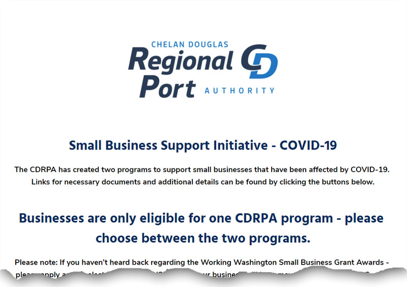 port covid small business